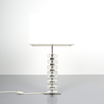 Bakalowits table light glass nickel 5 Kopie