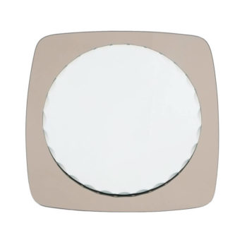 Fontana Arte Style Scalloped Mirror