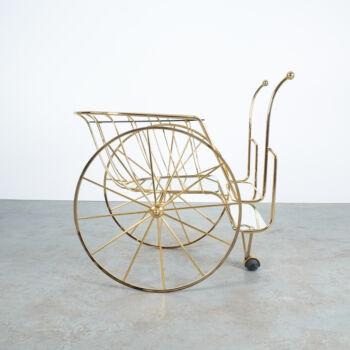 Brass Bar Cart 01