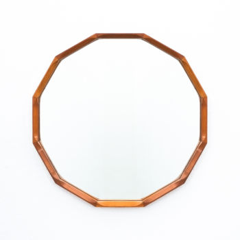 Dino Cavalli Mirror Light Walnut 01 1