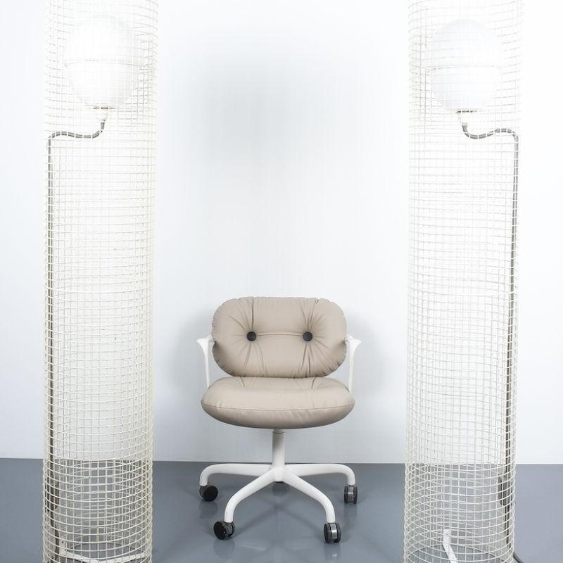 2x Sarfatti floor lights mod.1102_02