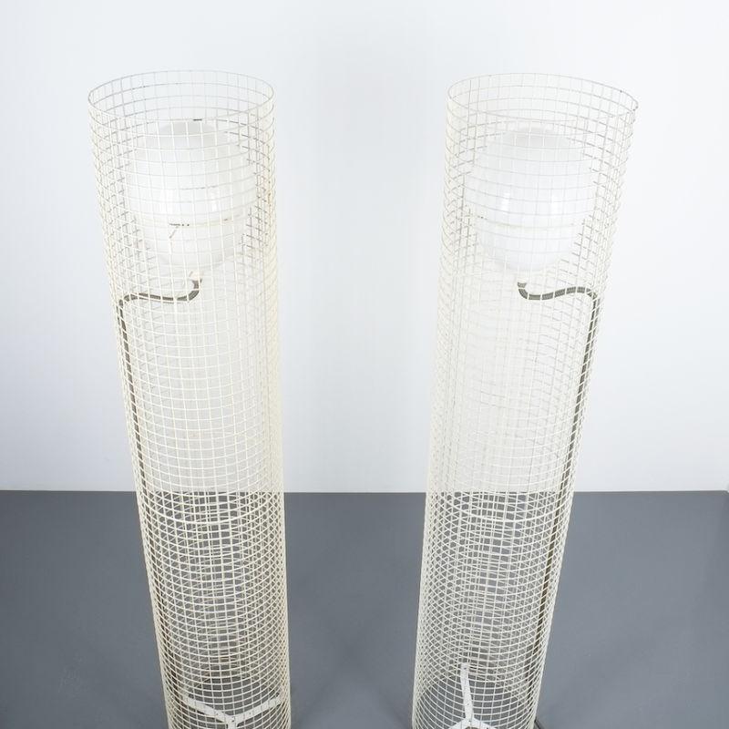 2x Sarfatti floor lights mod.1102_04