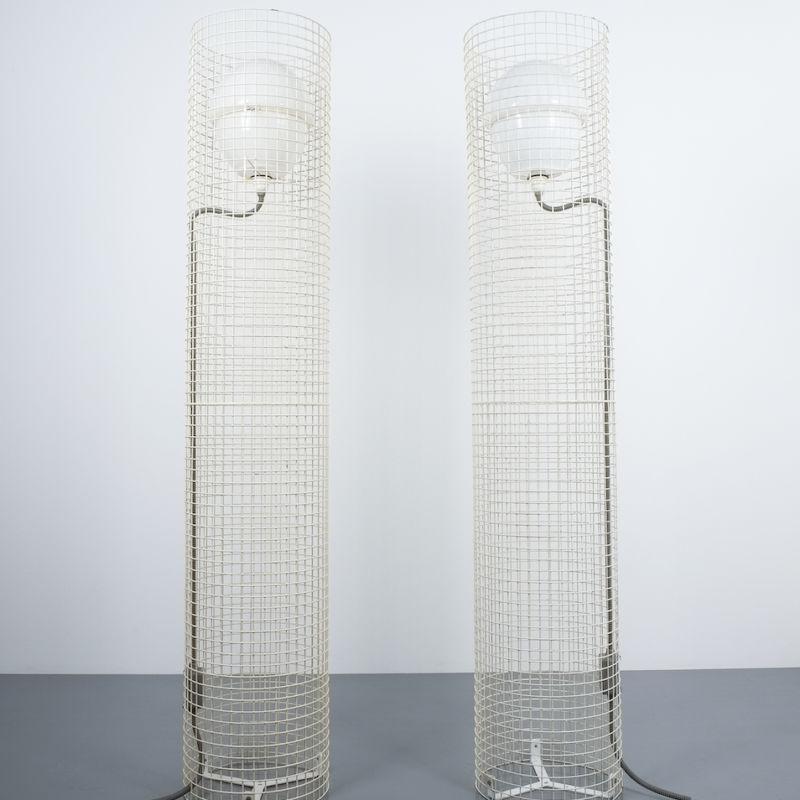 2x Sarfatti floor lights mod.1102_08