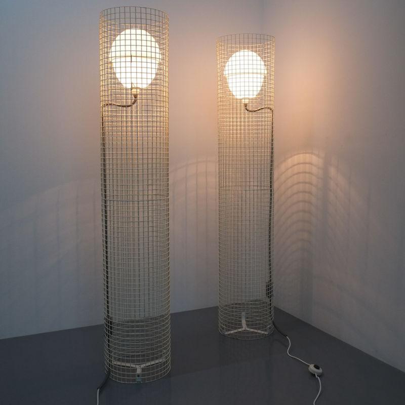 2x Sarfatti floor lights mod.1102_09