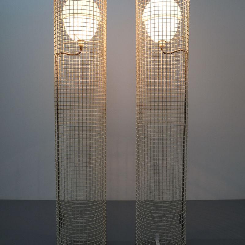 2x Sarfatti floor lights mod.1102_10