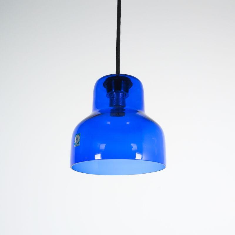 5x Murano Blue Glass Pendants 02