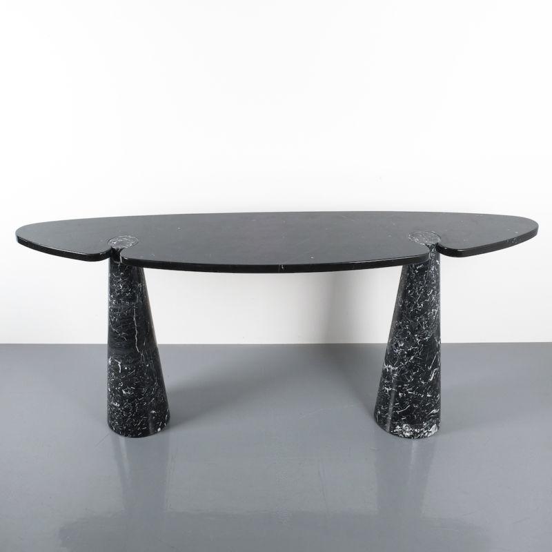 928 Eros Mangiarotti Console Table Marble Black 03