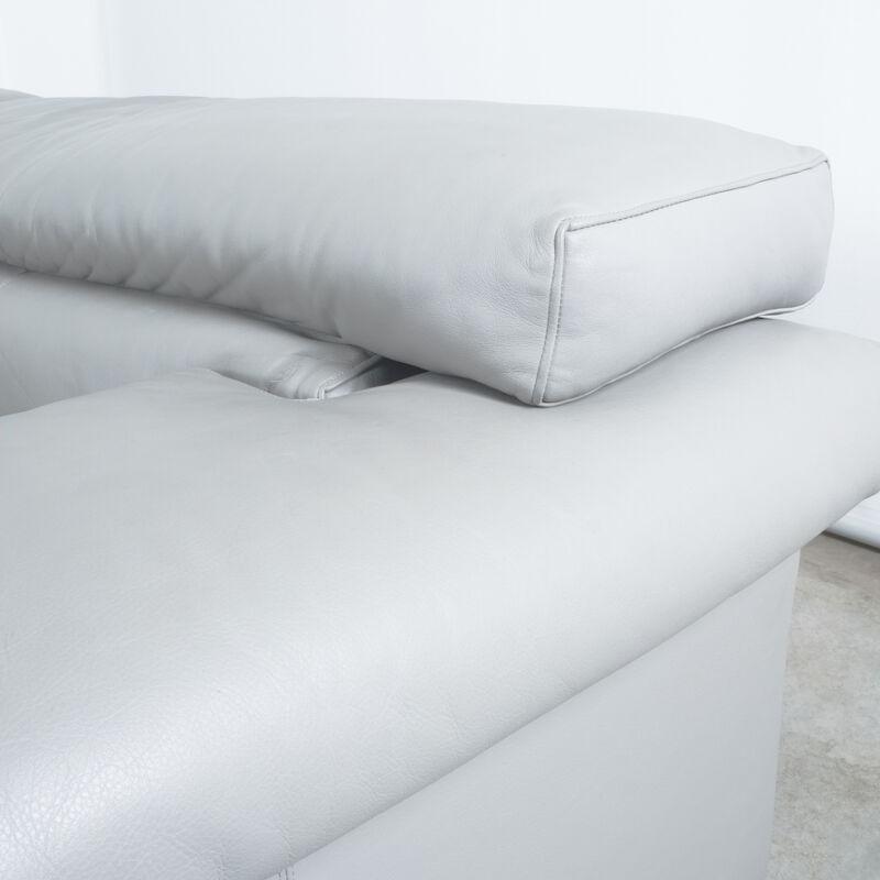 Afra Tobia Scarpa Erasmo Leather Sofa 07