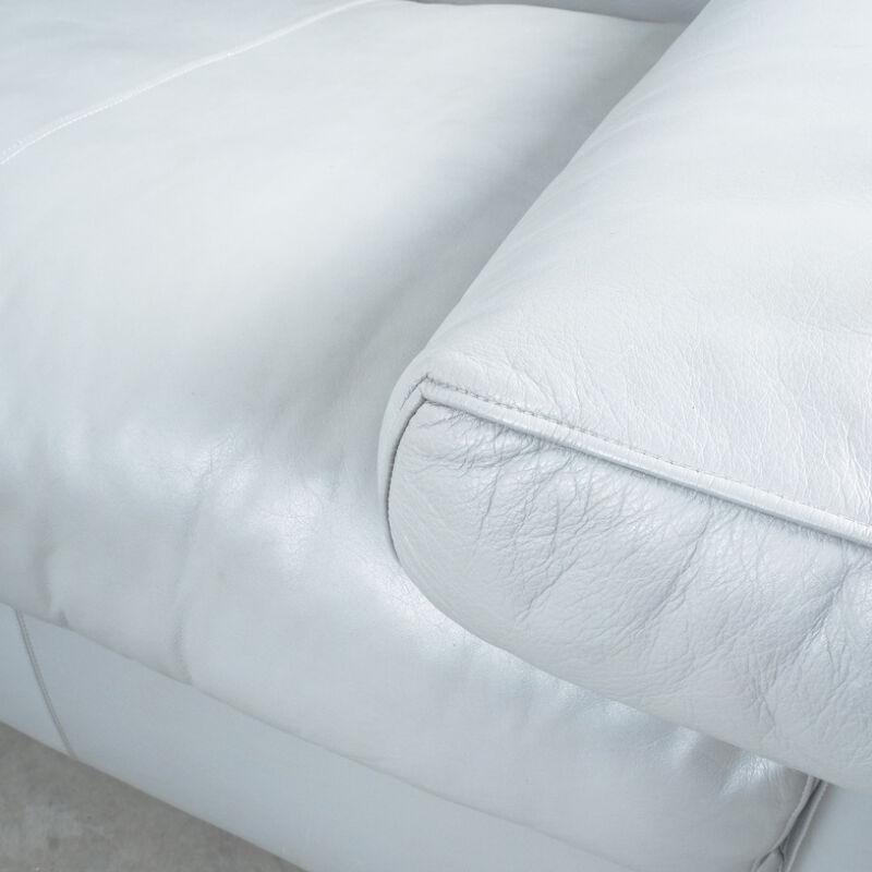 Afra Tobia Scarpa Erasmo Leather Sofa 08
