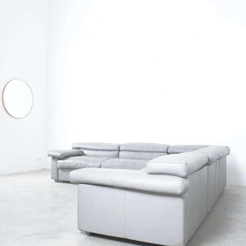 Afra Tobia Scarpa Erasmo Leather Sofa 10