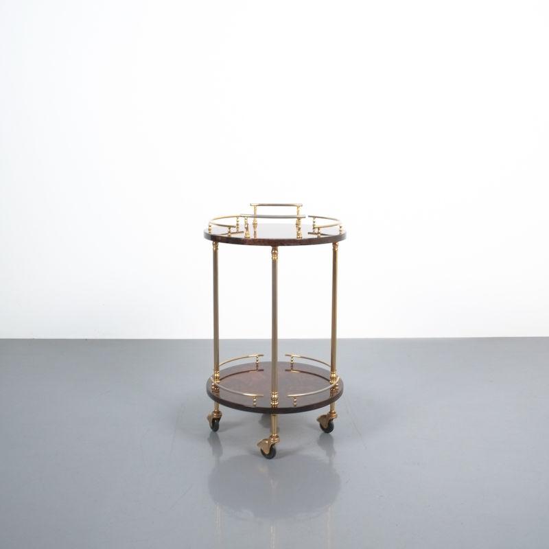 Aldo Tura Small Cart Brown 01