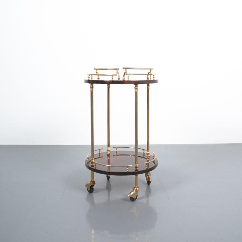 Aldo Tura Small Cart Brown 02