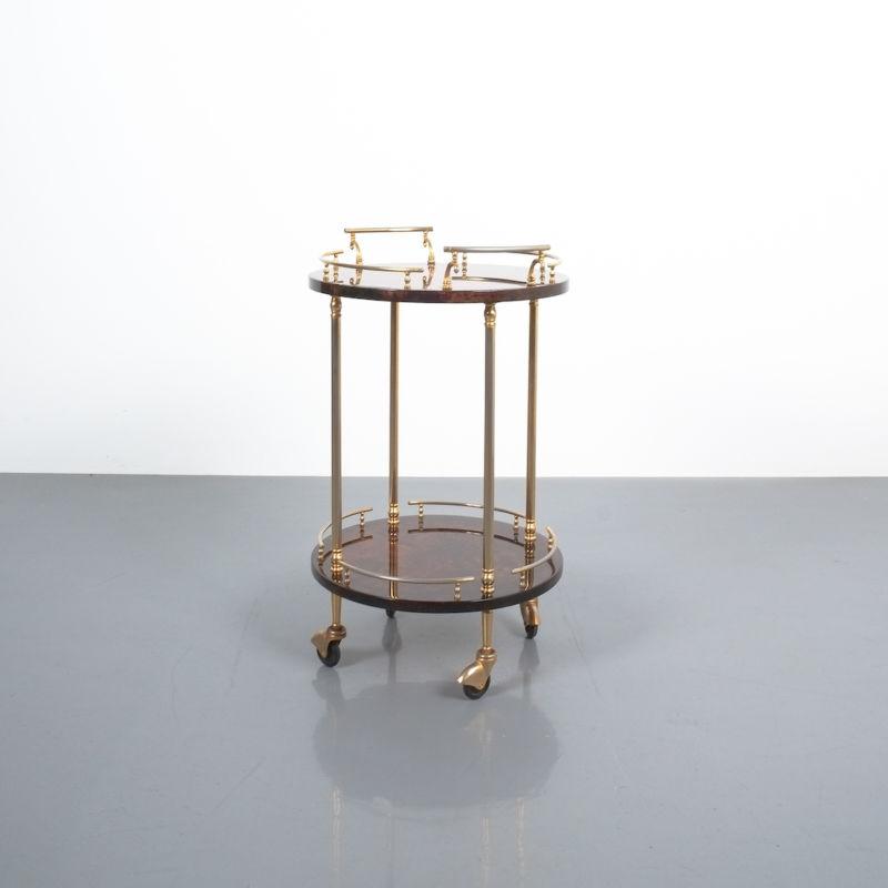Aldo Tura Small Cart Brown 03