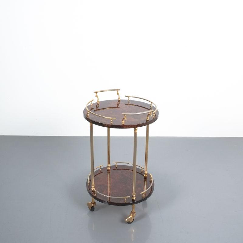 Aldo Tura Small Cart Brown 07