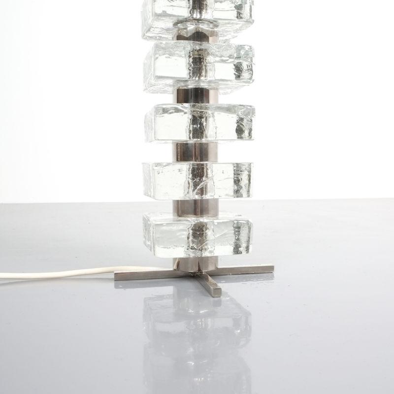 Bakalowits table light glass nickel 3 Kopie