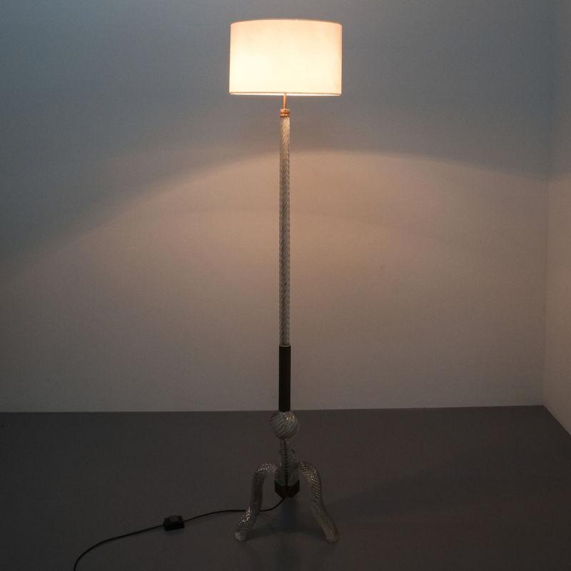 Barovier Murano Floor Lamp Glass 01