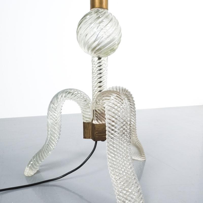 Barovier Murano Floor Lamp Glass 07