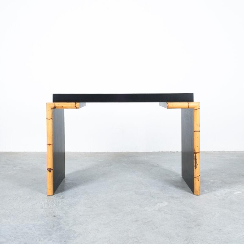 Branzi Style Blck Bamboo Desk 1980 07