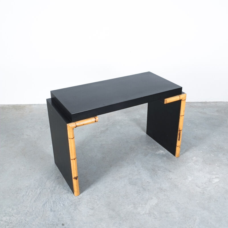 Branzi Style Blck Bamboo Desk 1980 09