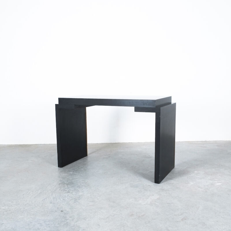 Branzi Style Blck Bamboo Desk 1980 10