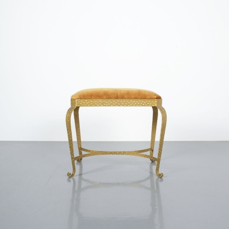 Colli Pair Benches Iron Gold 01