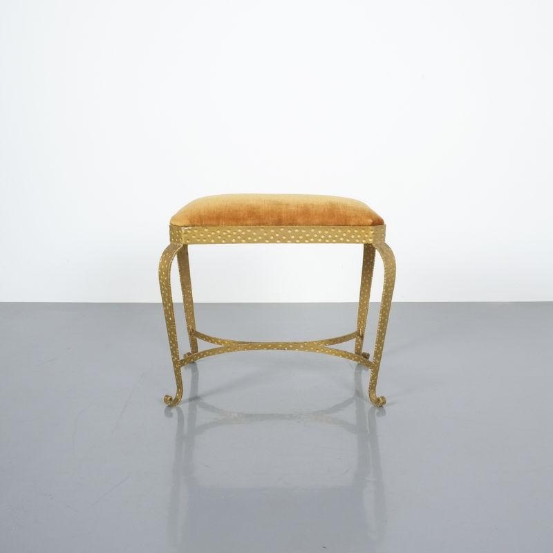 Colli Pair Benches Iron Gold 02