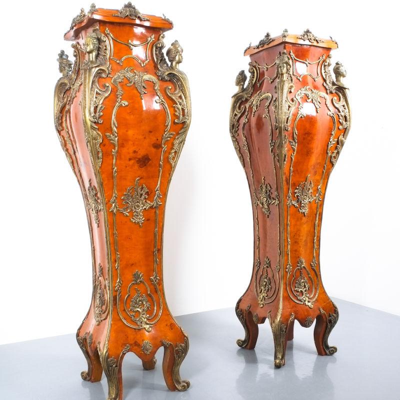 Dresdner Barock Pedestals 1880 07