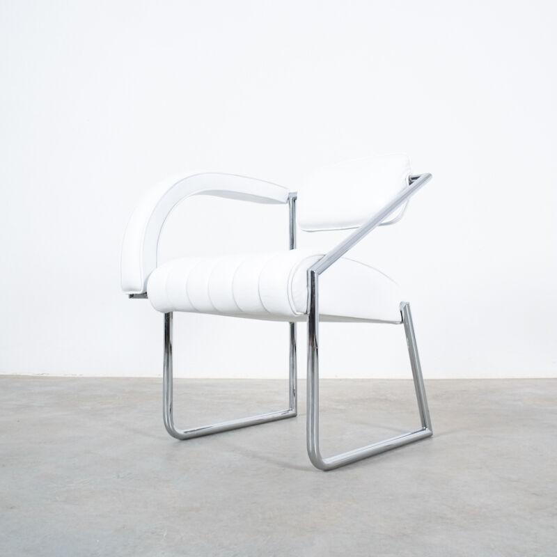 Eilleen Gray Chair White Non Conformist 03