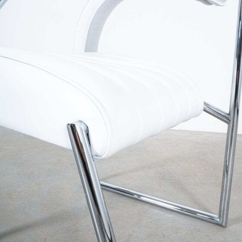 Eilleen Gray Chair White Non Conformist 10