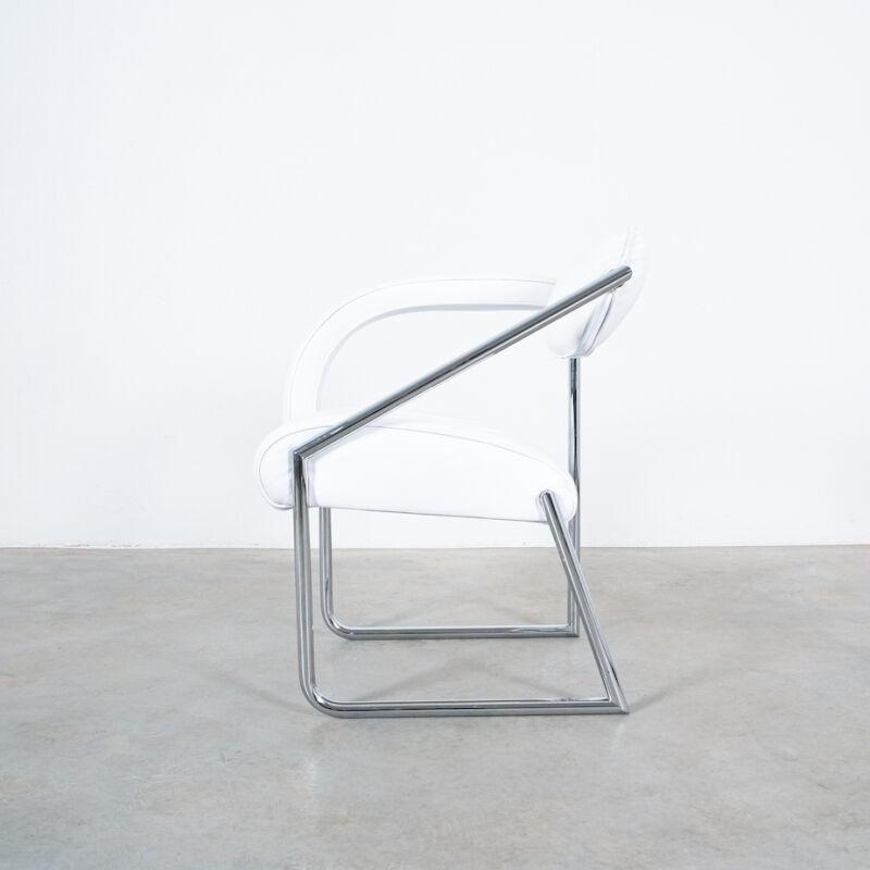 Eilleen Gray Chair White Non Conformist 12