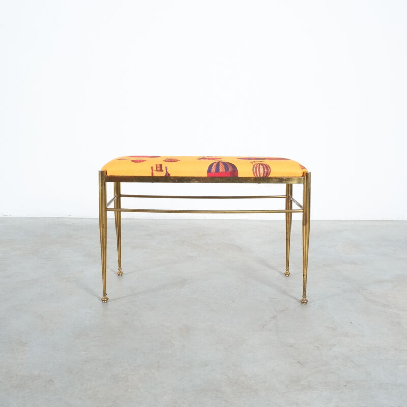 Fornasetti Brass Bench 01