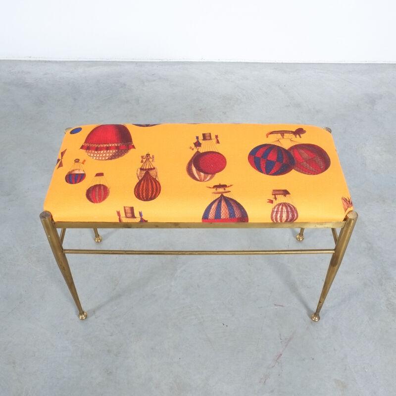 Fornasetti Brass Bench 02