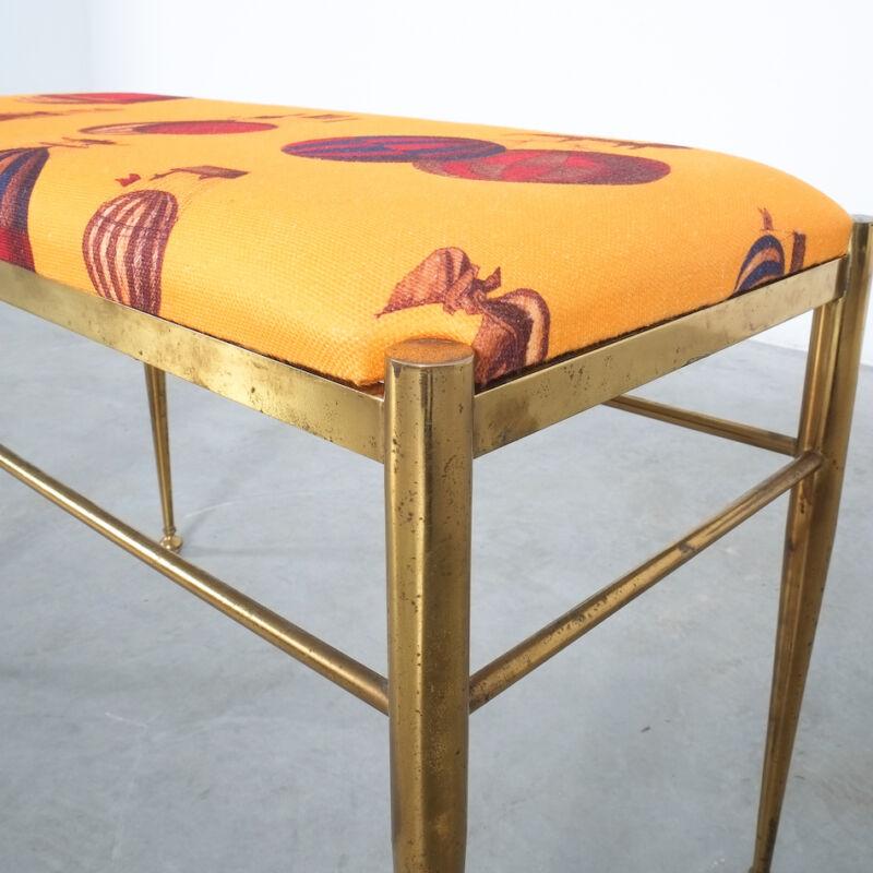 Fornasetti Brass Bench 05