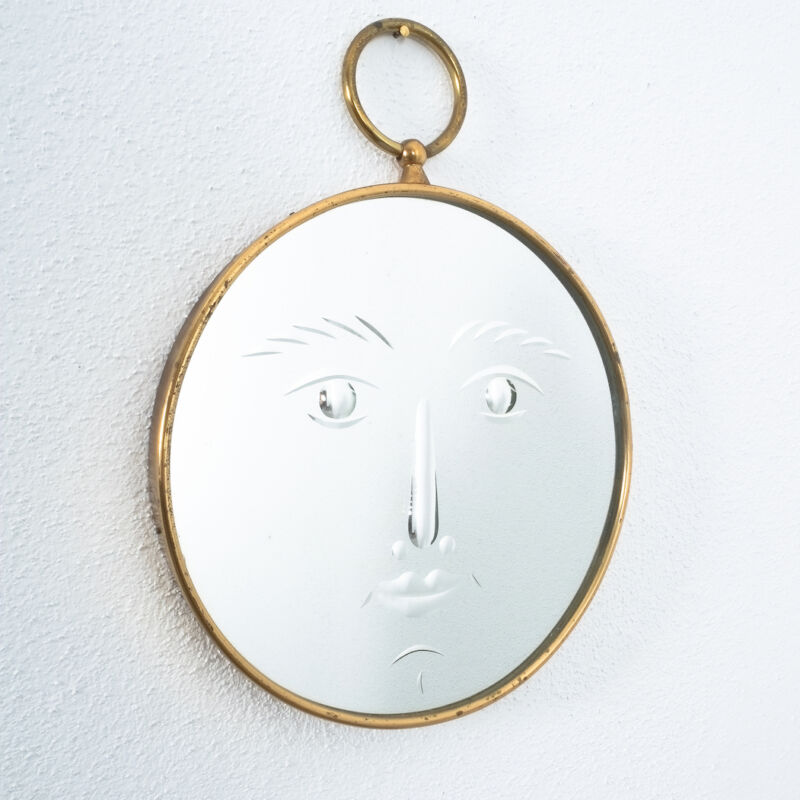Fornasetti Rare Face Mirror 01