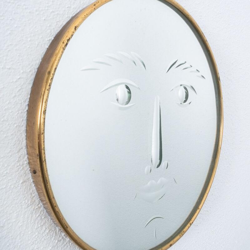 Fornasetti Rare Face Mirror 05