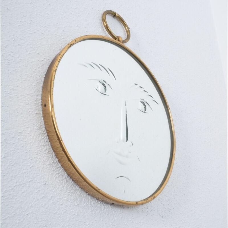Fornasetti Rare Face Mirror 06