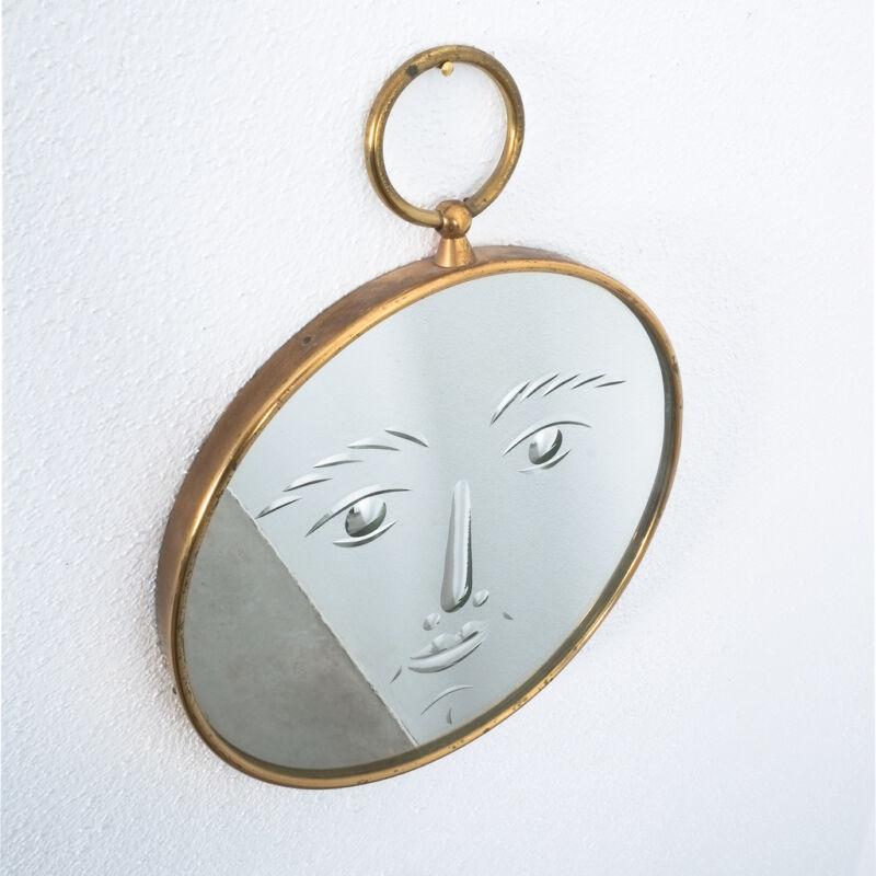 Fornasetti Rare Face Mirror 07