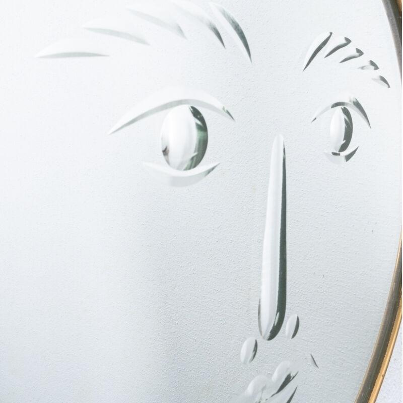 Fornasetti Rare Face Mirror 10