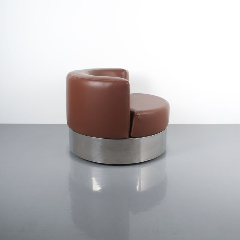 Franco Fraschini driade leather chair_04