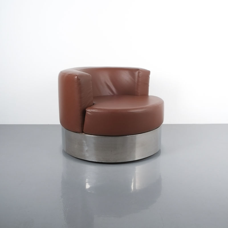Franco Fraschini driade leather chair_05