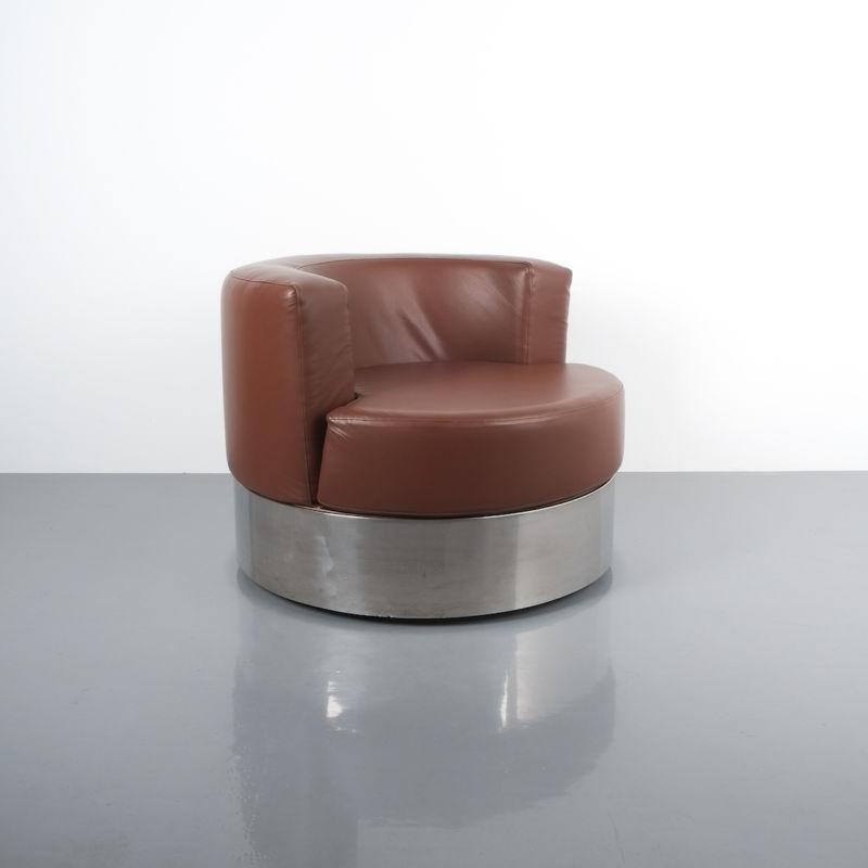 Franco Fraschini driade leather chair_05