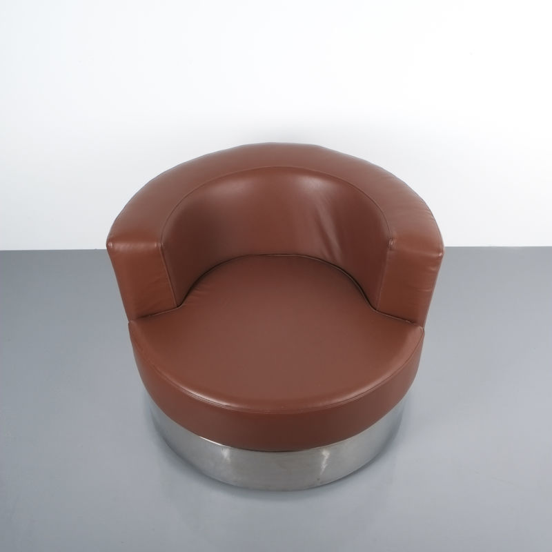 Franco Fraschini driade leather chair_07