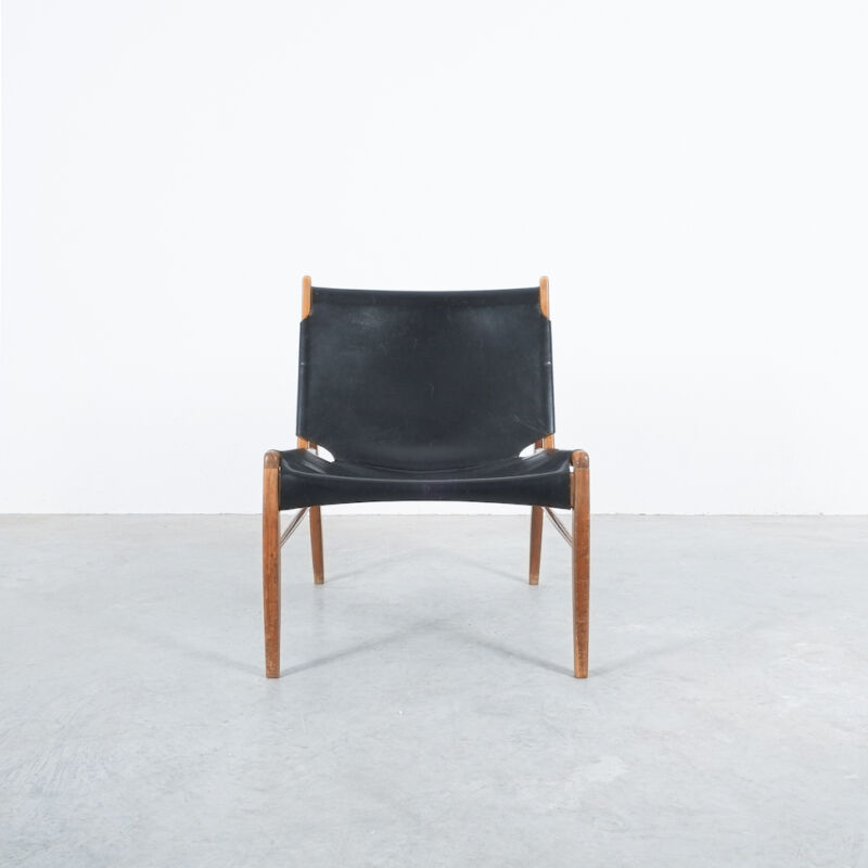 Franz Xaver Lutz Chimney Leather Chair 07