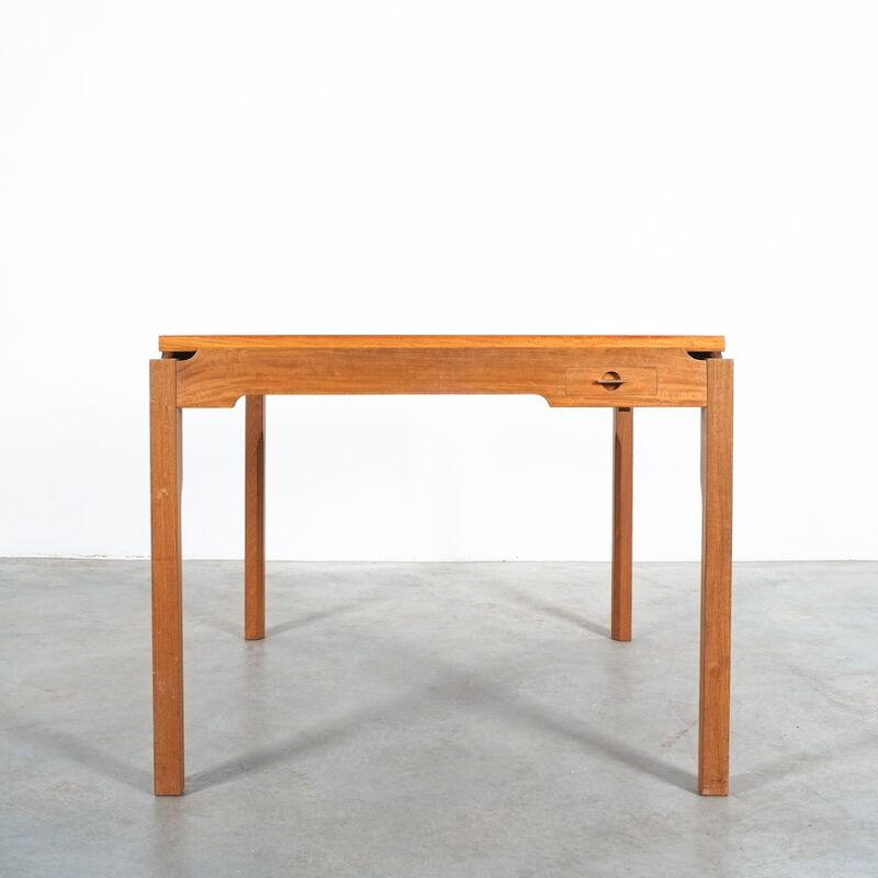 Gorm Lidum Game Table Teak 01