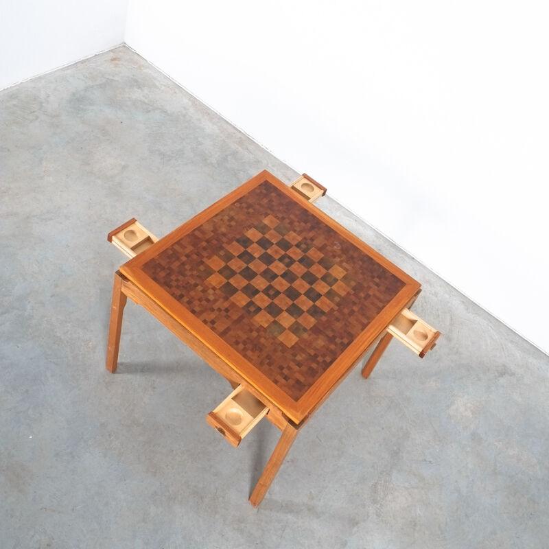 Gorm Lidum Game Table Teak 03