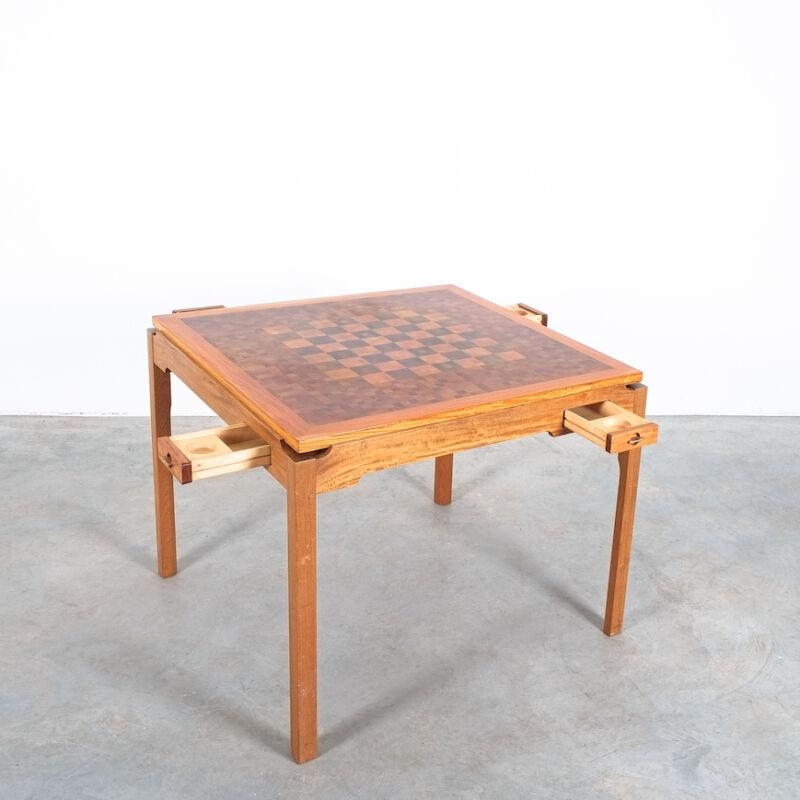 Gorm Lidum Game Table Teak 04