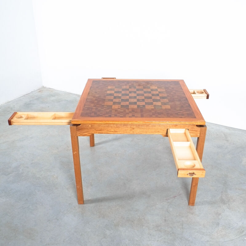 Gorm Lidum Game Table Teak 09