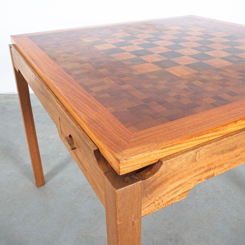 Gorm Lidum Game Table Teak 10