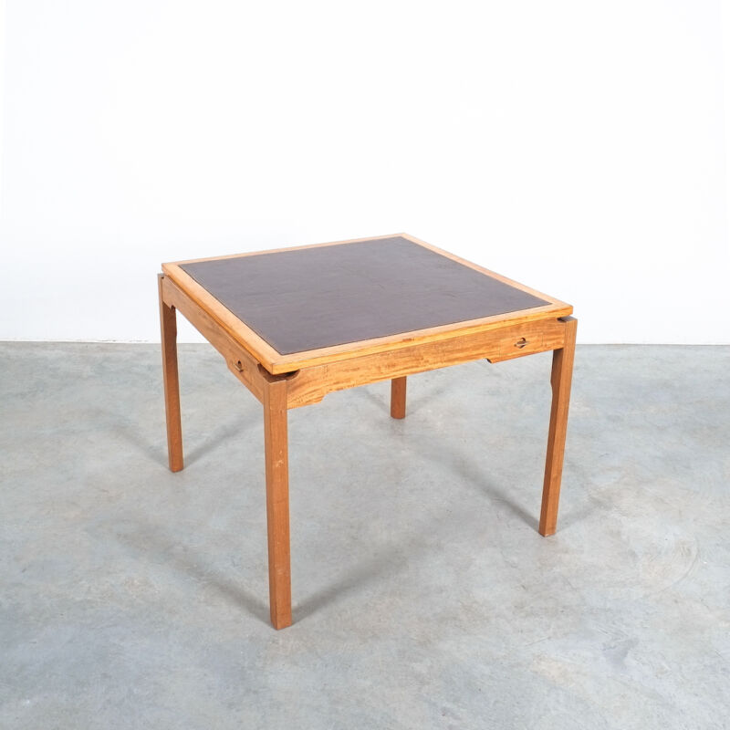Gorm Lidum Game Table Teak 11