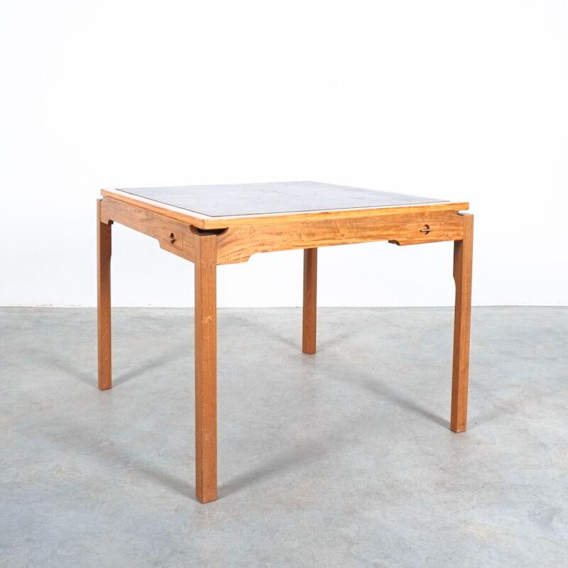 Gorm Lidum Game Table Teak 12